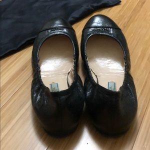 Prada Shoes - PRADA authentic black leather flats with bag/ box